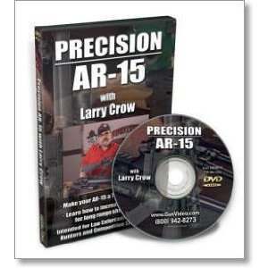 Precision AR-15 DVD with Larry Crow