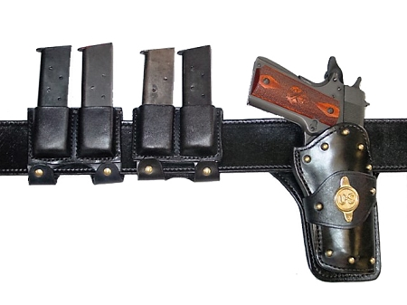 Evil Roy Wild Bunch Rig by Ted Blocker Holsters FREE SHIPPING!!!