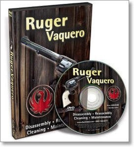 Ruger Vaquero Disassembly and Reassembly DVD by Larry Crow