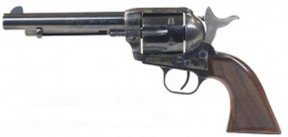 Cimarron's Evil Roy No. ER4104, $770, was the top vote-getter in this match-up of 357 Magnum single-action wheelguns.