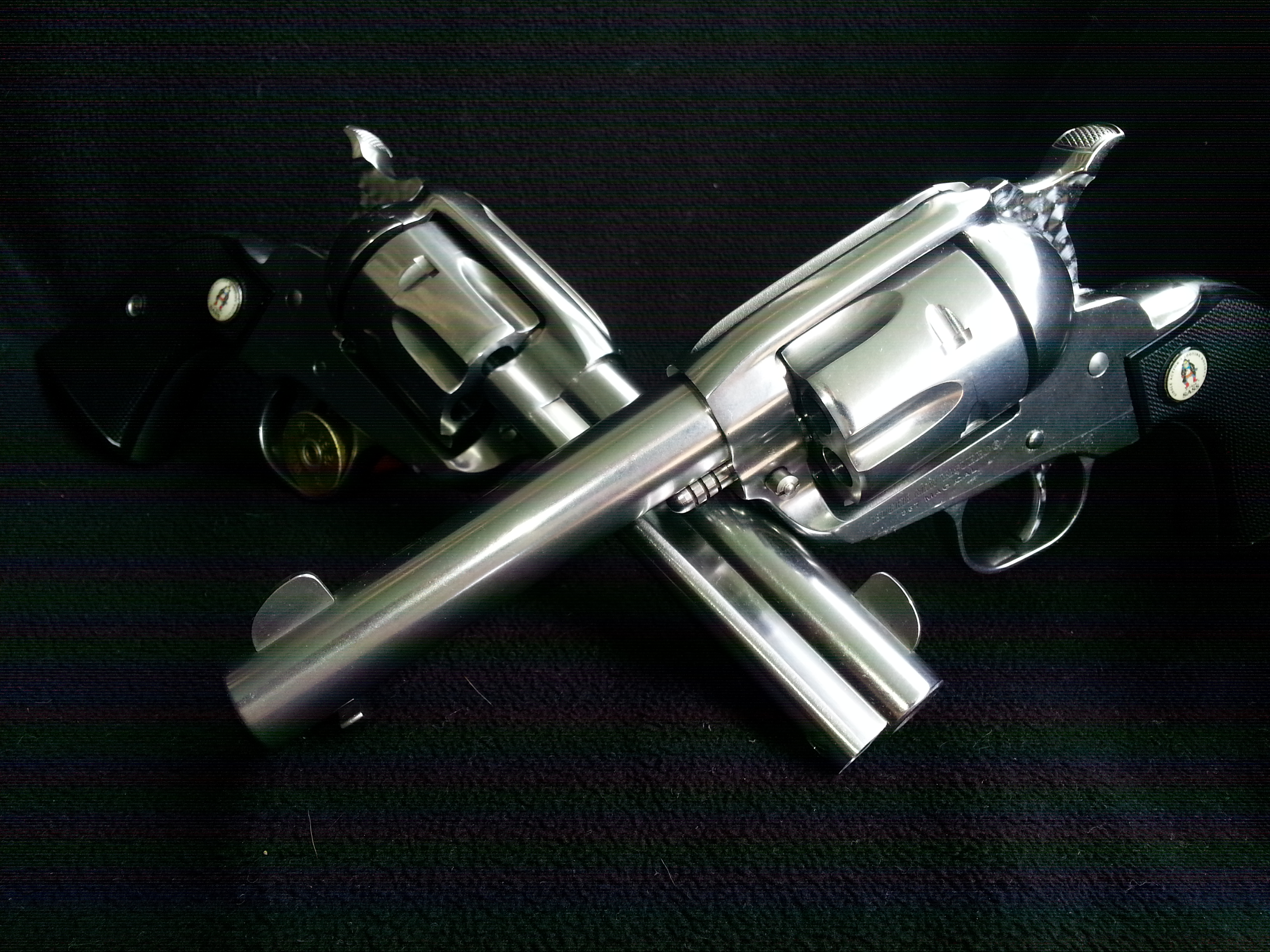 Pair Ruger Vaquero® : SASS® Model 5133 357 - SA Revolver Tuned w/ Jeweled  Triggers, Hammers and Cylinders Consec Serial Numbers Ready to Ship! FREE